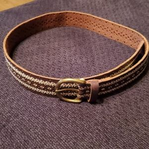 Lucky Brand Leather Belt Size M